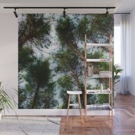 Trees in the forest Wall Mural