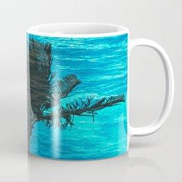 SWIMMING PALM Coffee Mug
