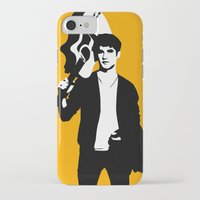 darren criss iPhone & iPod Cases featuring Darren Criss with guitar! by byebyesally