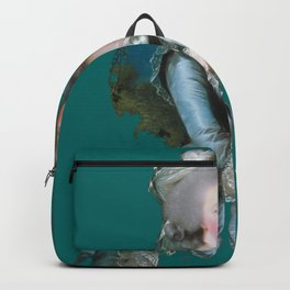 marie Antoinette teal Backpack