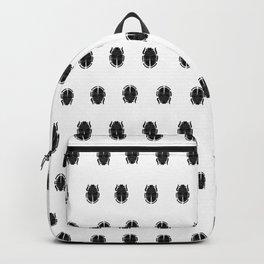 Black scarab Backpack