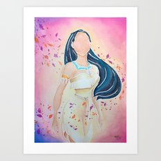 Pocahontas - Colors of the Wind Art Print