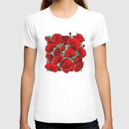 Poppies II T-shirt