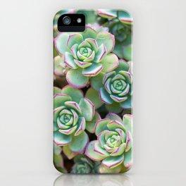 Green grass pattern iPhone Case