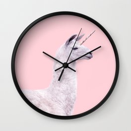 UNICORN LAMA Wall Clock