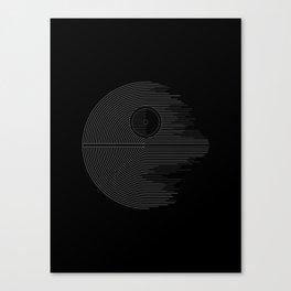 Minimalist Battlestation Canvas Print