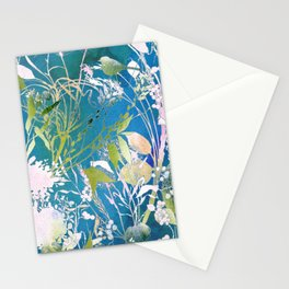 Watercolor Meadowland Stationery Cards