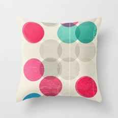 Petri Throw Pillow