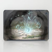 labyrinth iPad Cases featuring Labyrinth by Emily Marsh