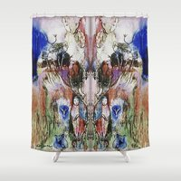 watch Shower Curtains featuring Spirits Watch by CrismanArt