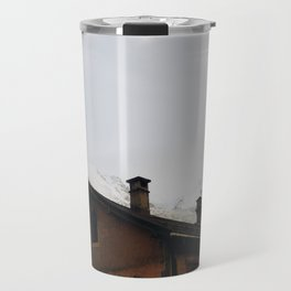 Winter in Chamonix Travel Mug