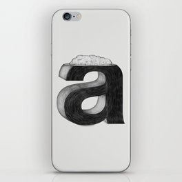 Dissecting Typefaces - a  iPhone Skin