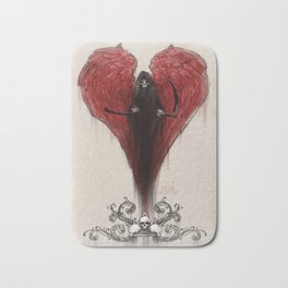 Love Kills; or at least makes you very uncomfortable Bath Mat