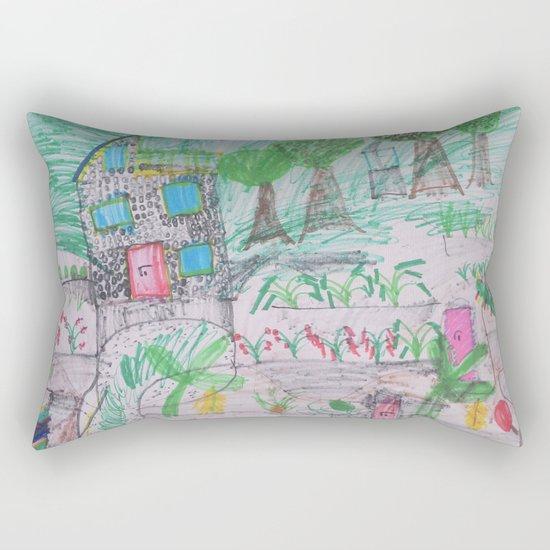 Place of Love - Handmade from Pascal  (A7 B0237) Rectangular Pillow