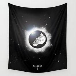 ECLIPSE :: rebirth of the lost cosmonaut Wall Tapestry