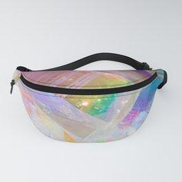Opal Aura Quartz Crystal 1 Fanny Pack