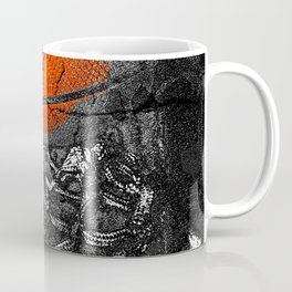Basketball Art, Sports Artwork Coffee Mug
