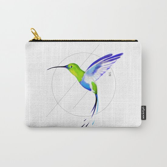 Under the Sign of Colibri Carry-All Pouch