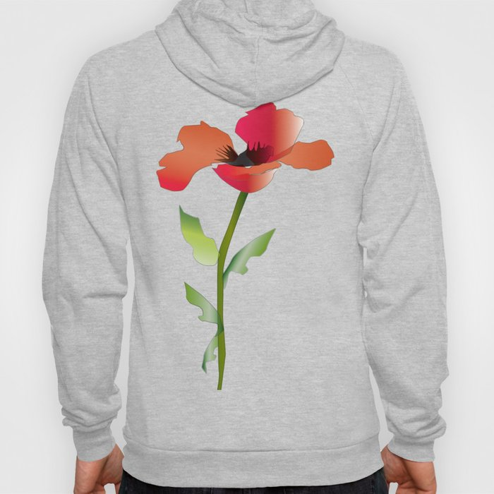 Poppy variation 11 Hoody