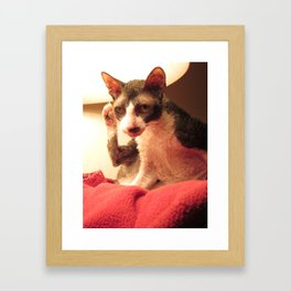 The Maggie Foot Wave Framed Art Print