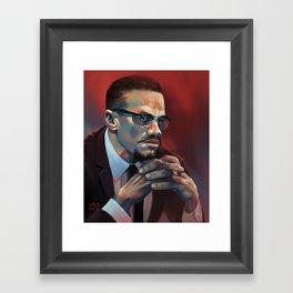 X. Framed Art Print
