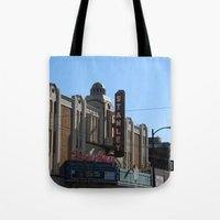 stanley kubrick Tote Bags featuring Stanley by RMK Creative