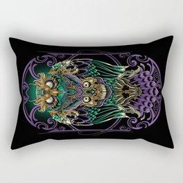 Grand Horned Owl Rectangular Pillow