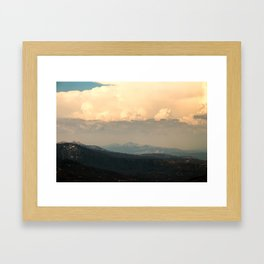 View From Music Farm Road Framed Art Print