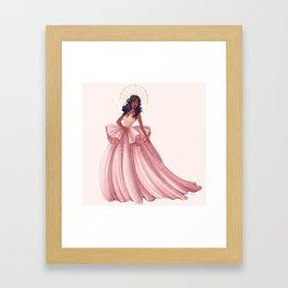 Belle of the Ball - Sza Framed Art Print