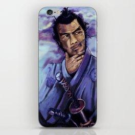 Toshiro Mifune digital painting. iPhone Skin