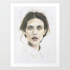 Aymeline Art Print