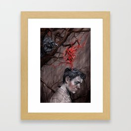 Things the Harpy Taught Me... Framed Art Print