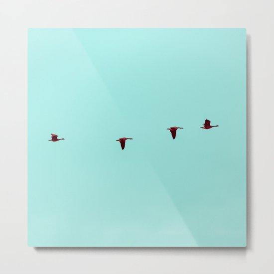 Take Flight - Wild Goose Chase Metal Print