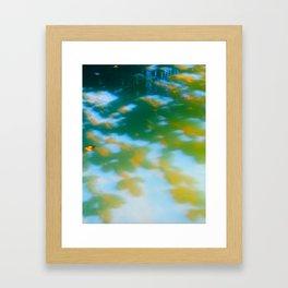 anini reflection Framed Art Print