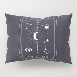 The Moon or La Lune Tarot Pillow Sham