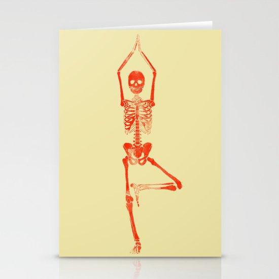 Skeleton Vriksasana by jenmjoyce