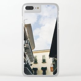 Architecture of Casco Viejo Clear iPhone Case