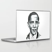 obama Laptop & iPad Skins featuring Obama by Bridget Davidson