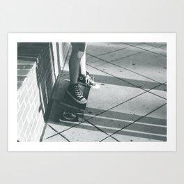longboard life Art Print