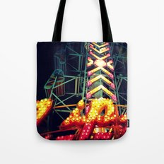 Carnival Lights, The Zipper Tote Bag