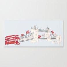 london impression Canvas Print