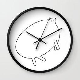 Cat 90 Wall Clock