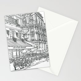 Cafe in Paris Stationery Cards