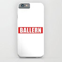 Ballern product | Lustig Techno Rave design iPhone Case