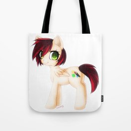 It all starts with a blank cavas. Tote Bag