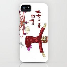 Notice Me Senpai (Clingy Edition) iPhone Case