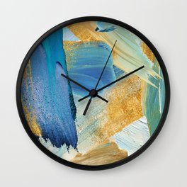 Easterly Abstract Wall Clock