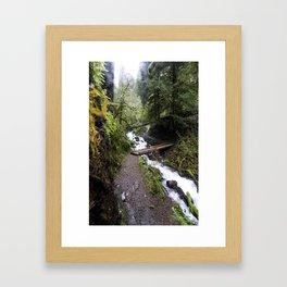 River Crossing Framed Art Print