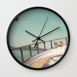Yachting Wall Clock