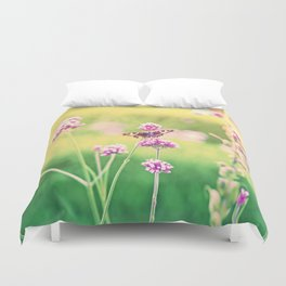 Butterfly Summer Romanze Duvet Cover